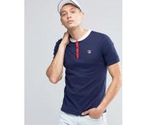 Retro-T-Shirt Marineblau