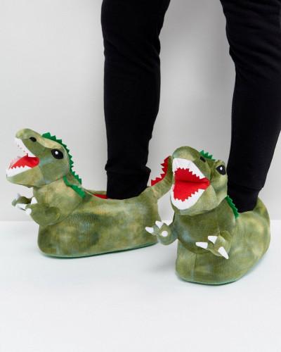 ASOS Herren Hausschuhe im Dinosaurier-Design