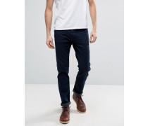 Twister Tiefsitzende Jeans mit engem Schnitt in Dunkelblau Blau