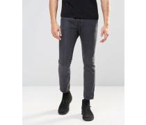 Levi's 510 North Star Enge Jeans in schwarzer Acid-Waschung Schwarz