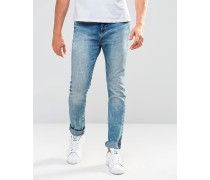 Levi's 510 Skinny-Jeans in mittlerer Pinky Boy Acid-Waschung Blau