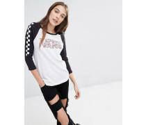 Nintendo Princess Peach Raglan-T-Shirt Mehrfarbig