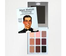 theBalm Meet Matt(e) Trimony Matte Lidschatten-Palette Mehrfarbig
