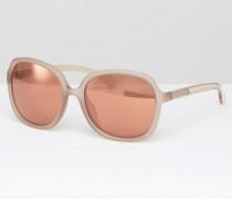 CK Jeans Übergroße Sonnenbrille Rosa