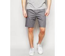 Shorts mit 100% Baumwolle Grau