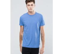 T-Shirt mit Logo Blau