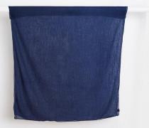 Leichter, minimalistischer Schal Blau