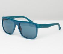 CK Platinum Sonnenbrille in Mitternachtsblau Blau