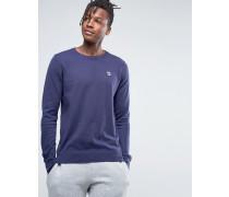 Fila Vintage-Pullover mit Rundhalsausschnitt Marineblau