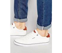 Niedrige Sneakers Weiß