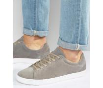 Vince Wildleder-Sneaker Grau