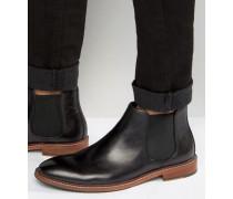 Mencia Chelsea-Stiefel aus Leder Schwarz