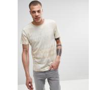 Jones T-Shirt in Beige mit Tarnprint Beige