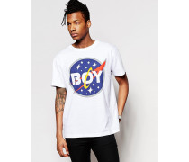 Space T-Shirt Weiß