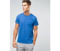 T-Shirt in Kornblume, klassische reguläre Passform Blau