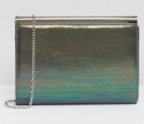 Wynford Metallic-Clutch Grau