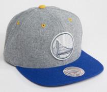 Greyton Golden State Warriors Snapback-Kappe Grau