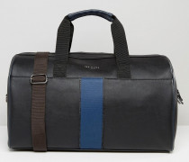 Gewebte Reisetasche Schwarz