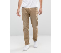 Cirrus Skinny-Jeans in Lead-Grau Grau