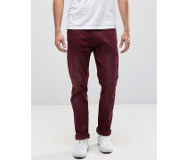Cirrus Enge Jeans in Zinfandel Rot