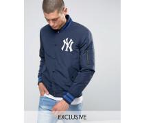 YankeesBomberjacke, exklusiv bei ASOS Marineblau