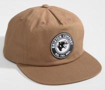Legion Snapback-Kappe mit hohem Profil Braun