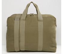 Khakigrüne Reisetasche aus Canvas Grün