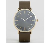 Uleawen Uhr mit mehreren Armbändern Mehrfarbig