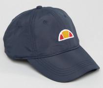 Dad-Cap aus Nylon mit kleinem Logo Marineblau