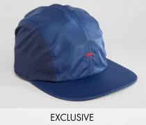 Kappe aus Nylon mit Netzeinsätzen Exkusiv bei ASOS Marineblau