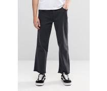 Brooklyn Supply Co Jeans mit weitem Bein Schwarz