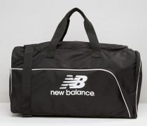 Mittelgroße Reisetasche in Schwarz Schwarz