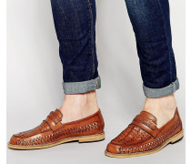 Hellbraune Loafer Bronze