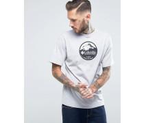 Pioneer T-Shirt mit Logo-Print Grau