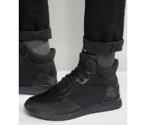 Mittelhohe Sneakers in Schwarz Schwarz