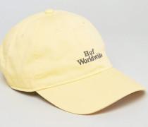 Worldwide Kappe mit Logo Gelb