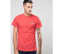 Core T-Shirt mit Logo Rot