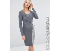 Mamalicious Zelma Still-Kleid Grau