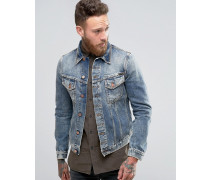 Nudie Billy Jeansjacke Blau