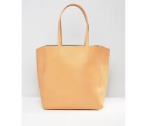 Shopper-Tasche Braun