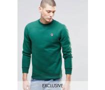 Fila Vintage-Sweatshirt mit kleinem Logo Grün