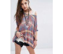 Pullover mit Aztekenmuster Mehrfarbig