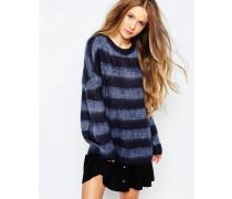 Gestreifter Pullover Mehrfarbig