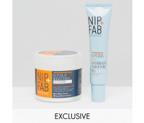 Nip & Fab ASOS Nachtpflege, exklusiv bei ASOS Glycolic Duo; 36% SPAREN Transparent