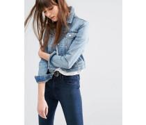 Levi's Trucker-Jacke aus Denim Blau