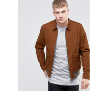 Harrington-Jacke in Rostrot Bronze