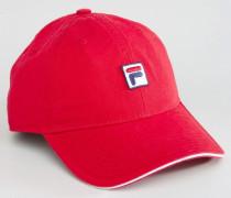 Kappe mit Logo Rot