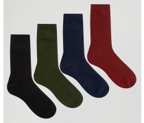 4er Pack Socken Mehrfarbig