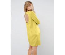 Minikleid mit tiefem Rückenausschnitt Gold