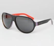 Pilotensonnenbrille Schwarz